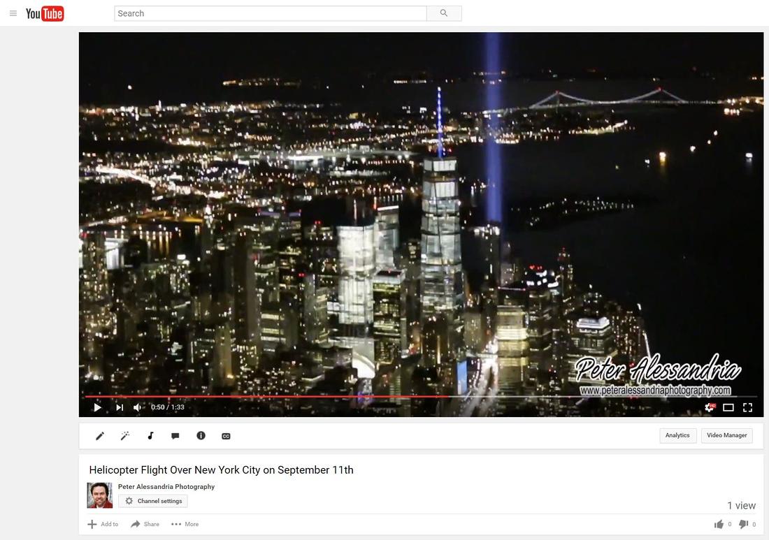 September 11th Helicopter Flight