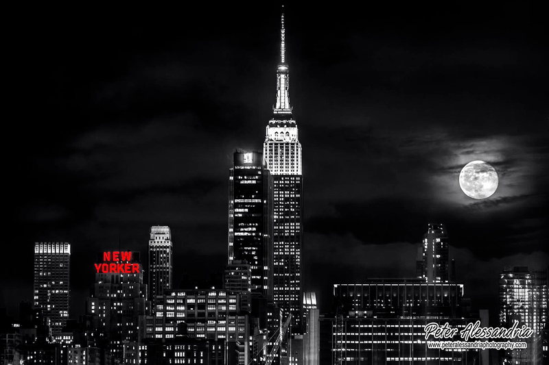 New York City full moon
