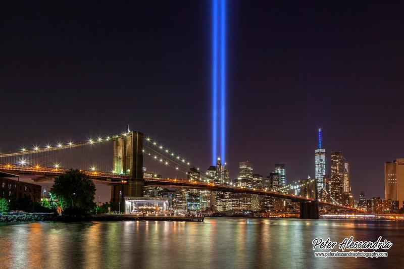 9-11 Lights New York City
