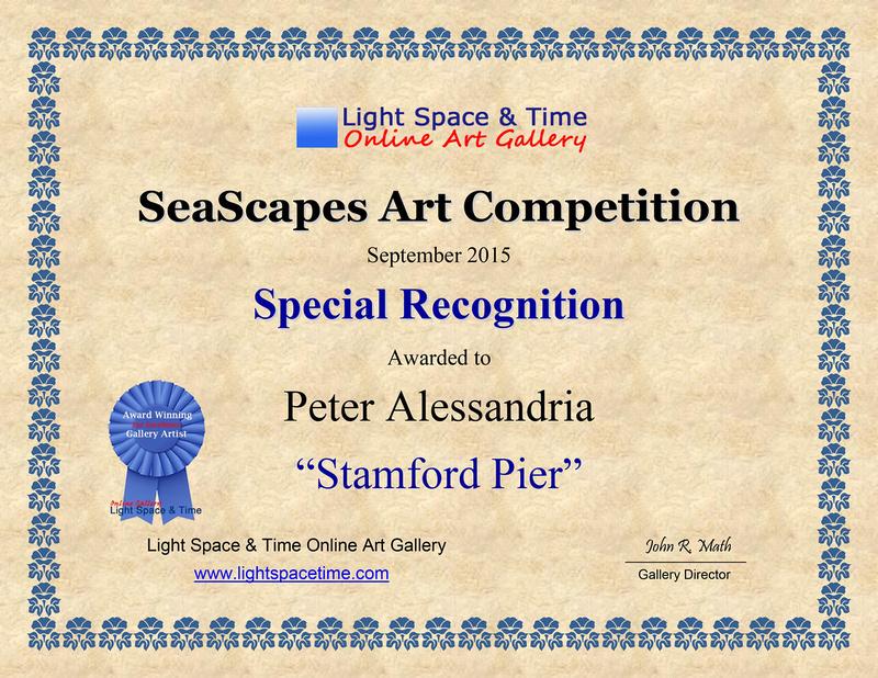 Special Recog SEASCAPES 2015 AWARD CERT