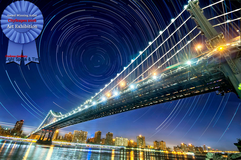 NYC Star Trails