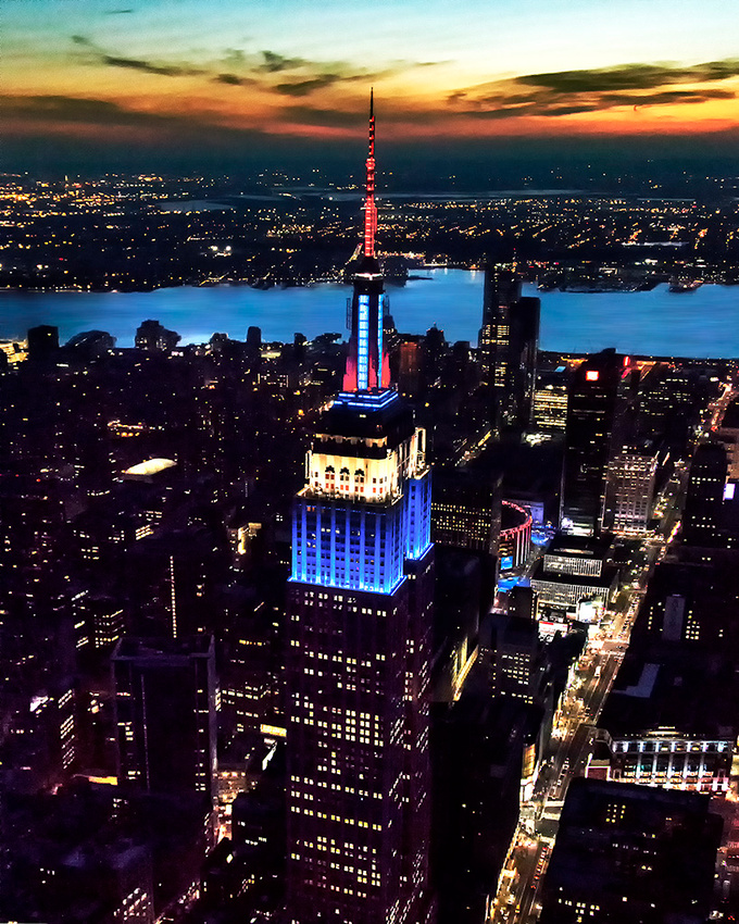 Empire State Red, White & Blue #4