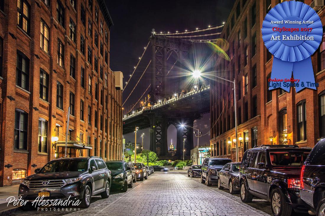Washington Street Night