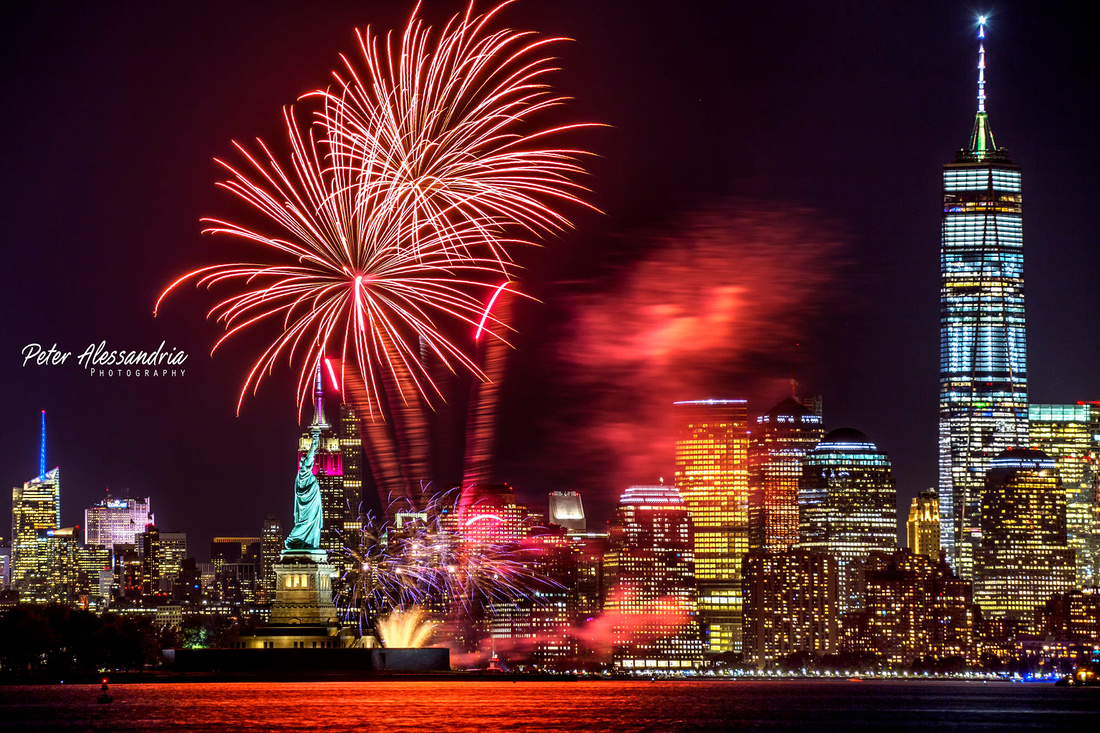 Fireworks New York City