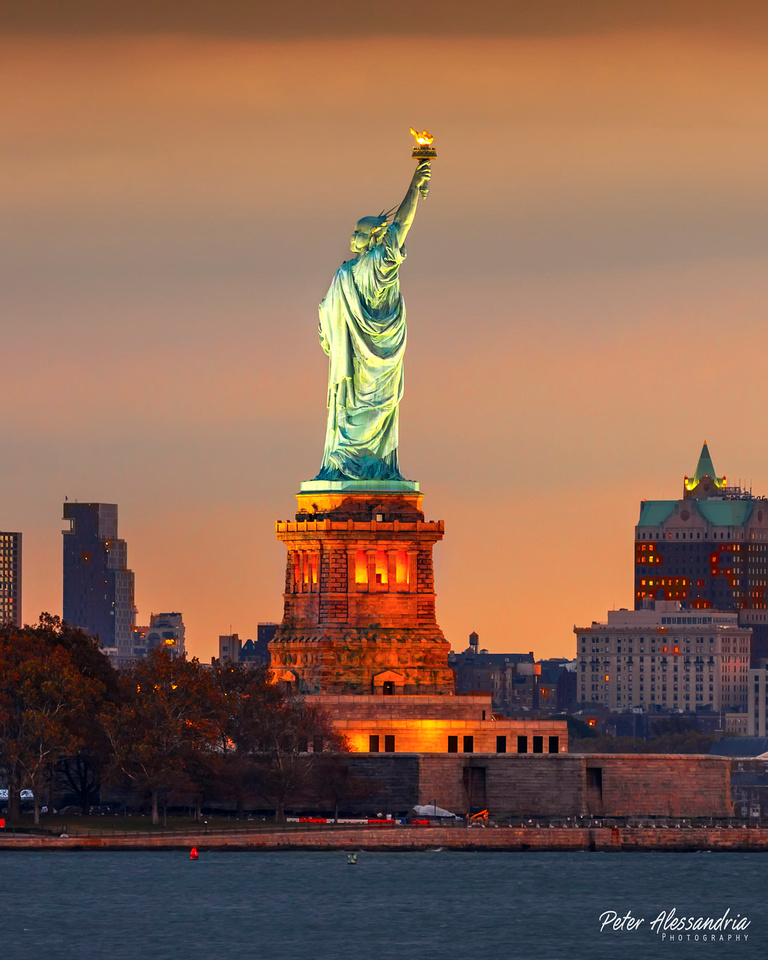 Statue of Liberty Dusk