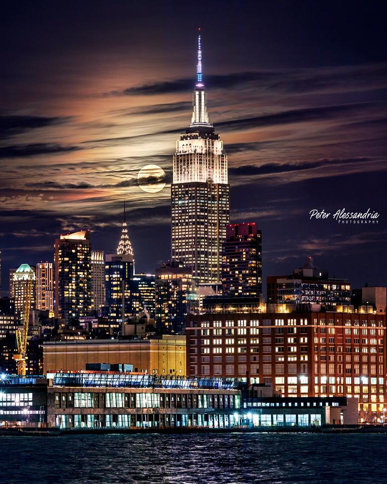 New York City SuperMoon