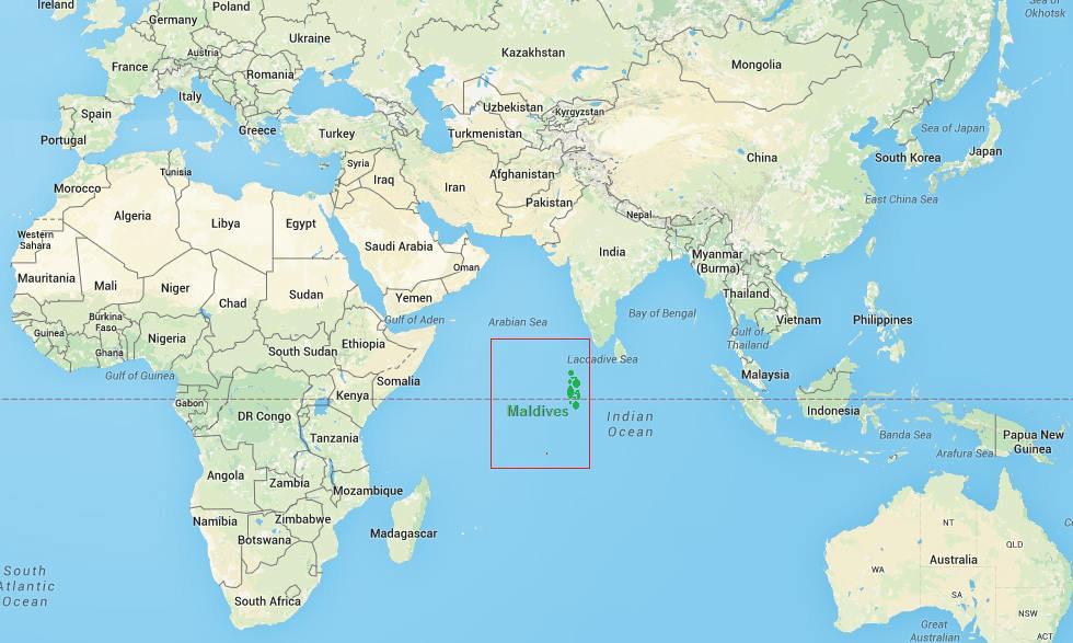 Maldives map1