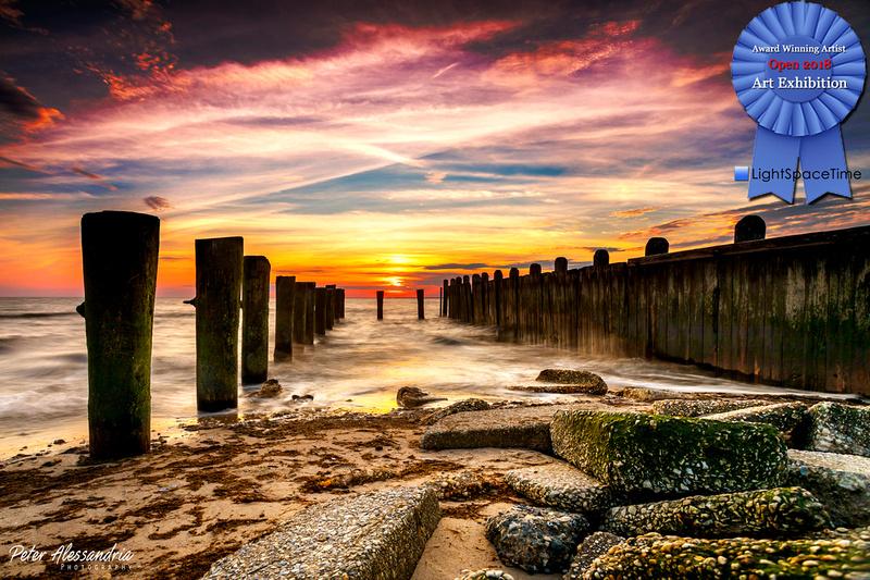 East Point Light Sunset