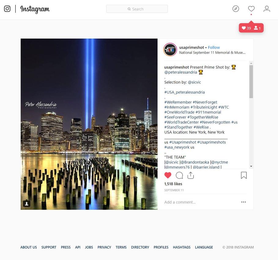 Instagram - 9- 11-18