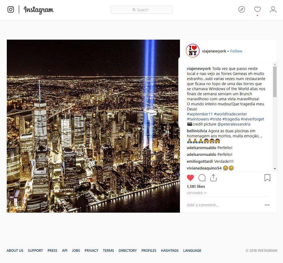 Instagram - 9-11-18