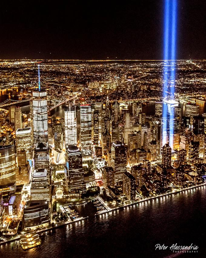 Sept 11 Tribute Light
