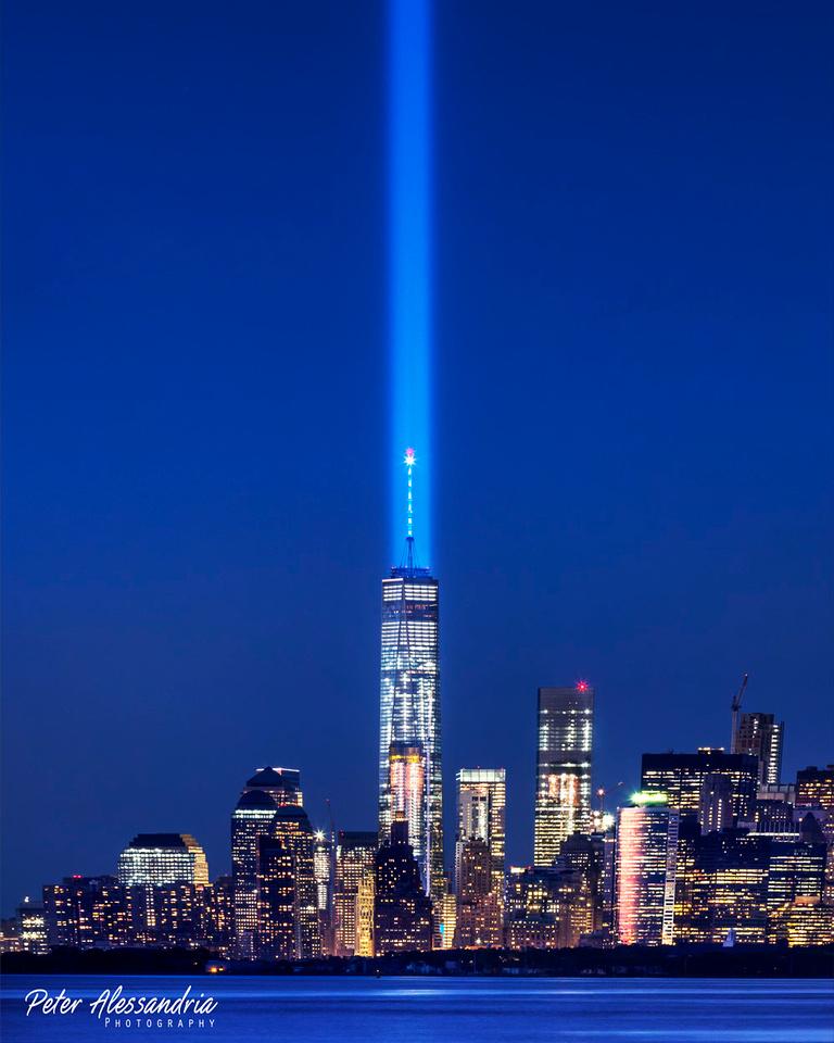 Sept 11 9/11 Tribute Light