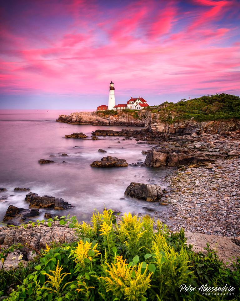 Maine Portland Lighthouse