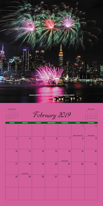 2019 Peter Alessandria Calendar