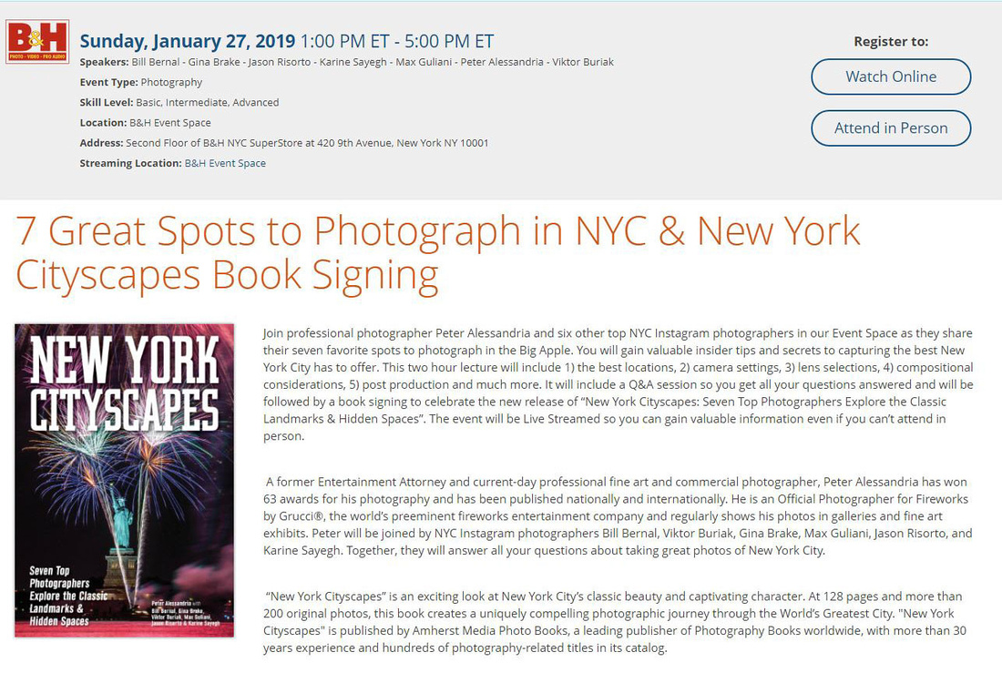 B&H Photo Book Signing