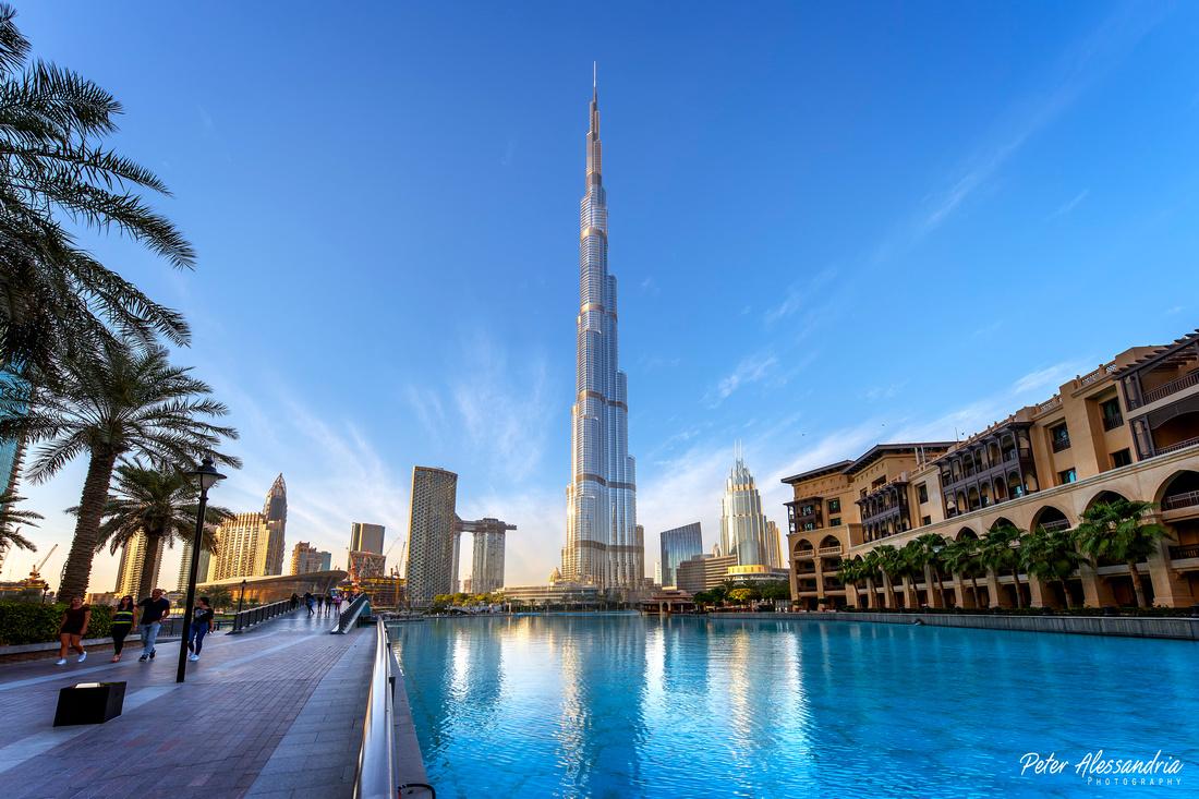 Dubai UAE Burj Khalifa