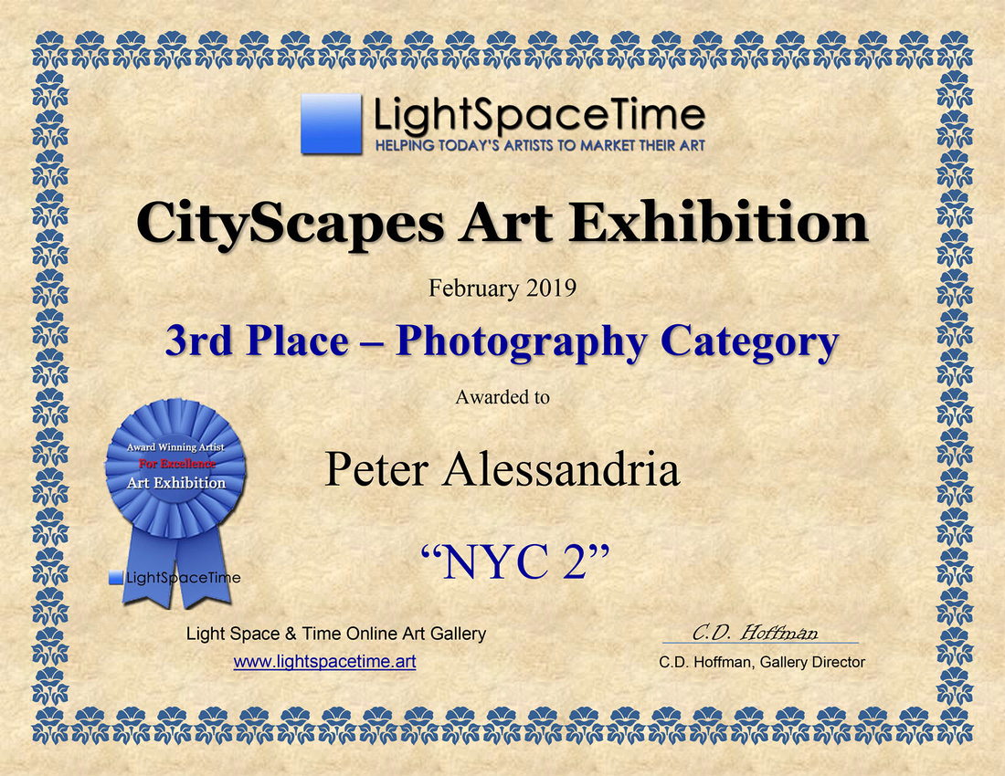 PHOTO - 3rd Place - CITYSCAPES 2019