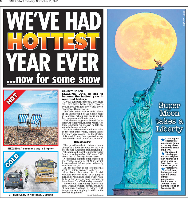 Daily Star 11-15-16