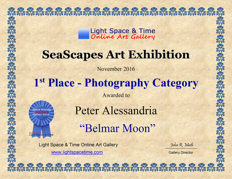 1st Place - Certificate