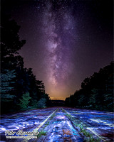 Milky Way Centralia Graffiti Highway