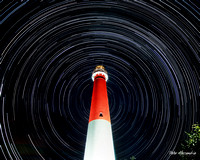 Barnegat Lighthouse Star Trail 1