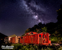 Milky Way Red Train Caboose