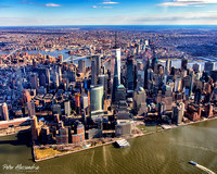 Helicopter Flight New York City Aerials