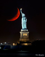 Statue of Liberty Moon