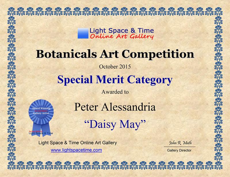 Botanicals 2015 AWARD CERT 2