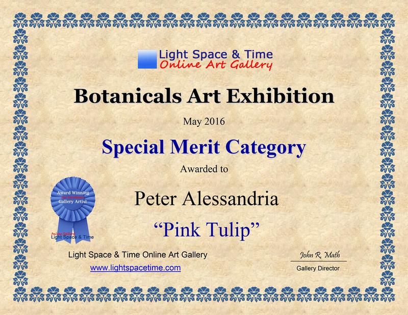 Award Certifiate