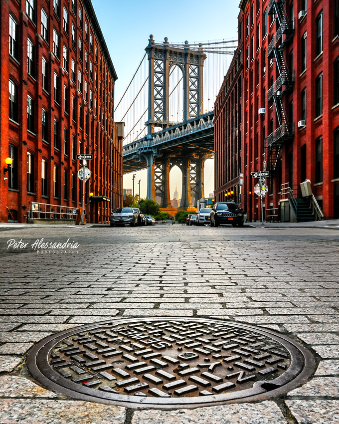 Washington Street Brooklyn Manhattan Bridge