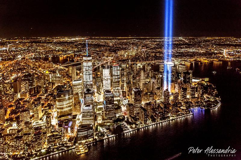 September 11th Tribute Lights 2016
