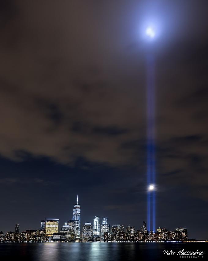 September 11th Tribute Lights 2017