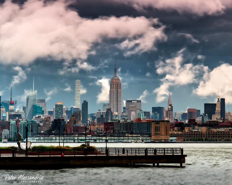 New York City Lightning Storm