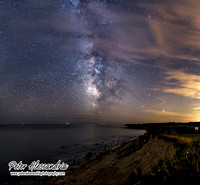 Milky Way Galaxy Camp Hero Montauk NY
