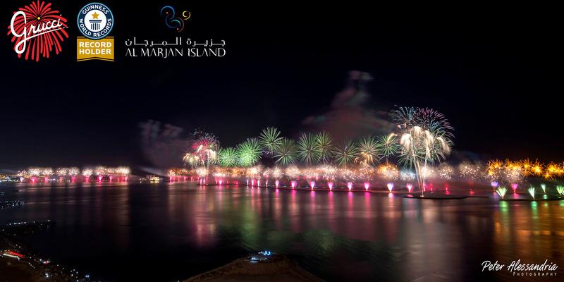 Al Marjan Grucci Fireworks