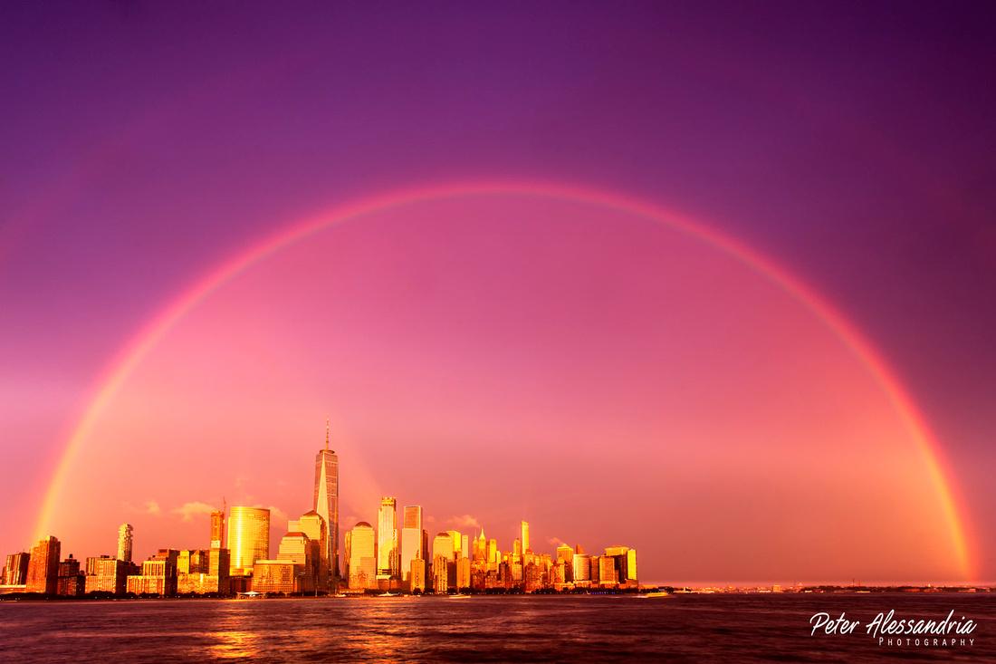 Double Rainbow New York City