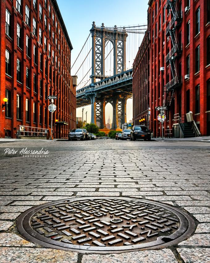 Washington Street Brooklyn Manhattan Bridge