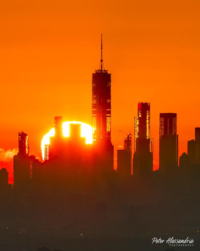 Sunrise New York City